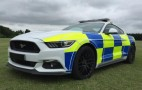 British police suit up with Ford Mustang GTs