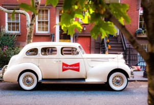 Get a Lyft in a Prohibition-era car thanks to Budweiser