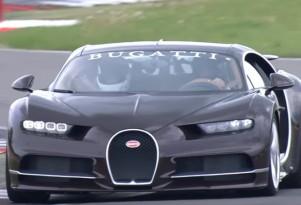 Bugatti Chiron at the Nürburgring