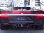 Bugatti Chiron engine rev video