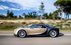 Bugatti Chiron fuel economy ratings better than Veyron, still dismal