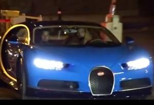 Bugatti Chiron in Cannes, France