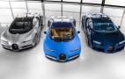 Bugatti Chiron starts delivery