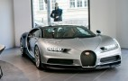 Silver Chiron is star of Bugatti's new Munich boutique and showroom