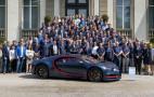 Bugatti builds 100th Chiron