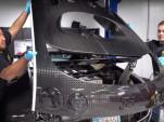 Bugatti Veyron oil change