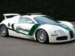Bugatti Veyron police car - Image: Dubai Police