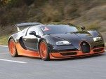 Bugatti Veyron SuperSport leak