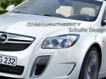 Buick Regal/Opel Insignia convertible preview rendering