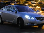 Buick Regal with possible U.S.-market exterior treatment