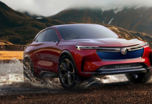 All-electric Buick Enspire crossover SUV concept bows in China