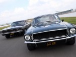 Bullitt' chase recreated in Silverstone