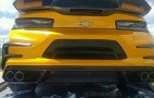 This is what the rear of the Bumblebee Camaro from Transformers 5 looks like