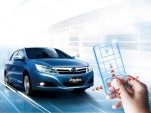 BYD's F3 Plus, now with remote control.