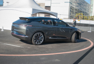 Byton concept first ride