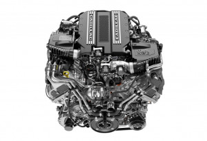 Cadillac 4.2-liter twin-turbocharged V-8