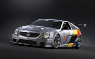 Drivers Of The Cadillac CTS-V Coupe Race Car Holding Online Web Chat