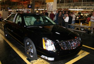 Last Cadillac DTS joins Bulgari collection