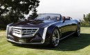 Cadillac Ciel four-seat convertible concept launch in Carmel, California, Aug 2011