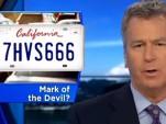 California 666 Plate
