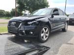 Audi Q5 after car crash, July 2017