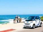 car2go Smart ForTwo Electric Drive at Pacific Beach