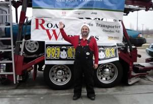 Car Santa Gives to Needy Drivers