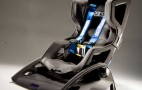 Prototype carbon fiber child seat takes inspiration from racing
