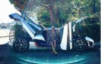 Racing driver Carina Lima shows off her Koenigsegg One:1