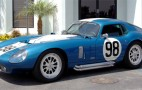 Carroll Shelby Takes Delivery Of Custom Cobra Daytona Coupe
