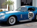Carroll Shelby takes delivery of custom Cobra Daytona