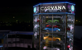 Carvana car vending machine