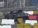 "Casey Currie takes on the Monza road course in his off-road racing ""Jeep"""