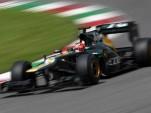 Caterham F1 car testing