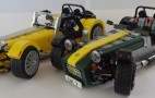 Get ready to build your own Lego Caterham