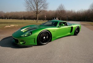 CCG CustomGT: GM-Powered Neon Green German Supercar