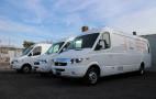 Driving a Chanje electric electric cargo van: very big, far better than diesel