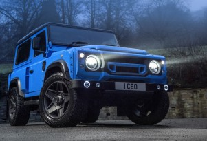 Chelsea Truck Company Defender 'The End' edition Land Rover Defender