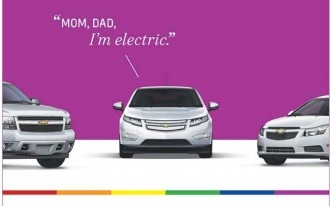 Chevrolet Volt 'Comes Out' For Detroit's LGBT Pride Weekend