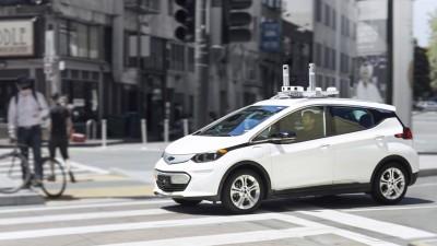 Chevrolet Bolt EV Cruise Automation test mule in San Francisco