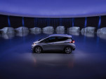 Chevrolet Bolt EV electric car with future GM electric and hydrogen fuel-cell vehicles, Oct 2017
