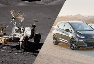 Electric cars after 46 years: Chevy Bolt EV vs lunar rover