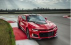 The 2017 Chevrolet Camaro ZL1 hits 60 mph in first gear