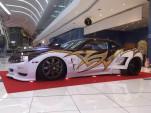 A custom dually Chevrolet Camaro built by UAE Muscle