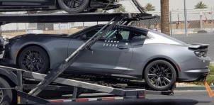 2019 Chevrolet Camaro ZL1 spied