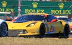 Chevy Corvette C7.R Turns First Laps In Anger At Daytona: Photos
