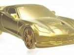 Chevrolet Corvette Stingray token from Monopoly Empire board game