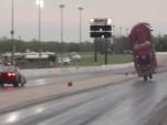 Corvette Dragster crash