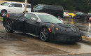 Mid-engine 2019 Chevrolet Corvette spy shots via Facebook user Josh B