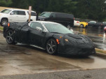 Mid-engine 2019 Chevrolet Corvette spy shots via Facebook user Josh B